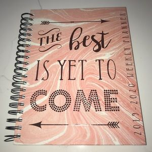 Other - Hard Cover Weekly Planner August 2019-2020